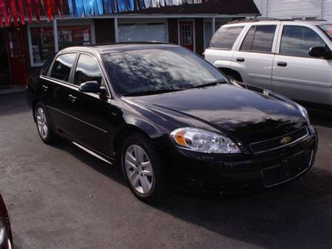 2011 Chevy Impala Ls by Find Used 2011 Chevy Impala Ls Only 10k 3 5 Auto Black