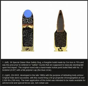 See What The Inside Of A Bullet Looks Like  6 Pics