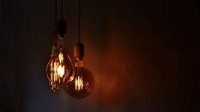 Electricity Bulbs Lighting 4k Background Wall Uhd