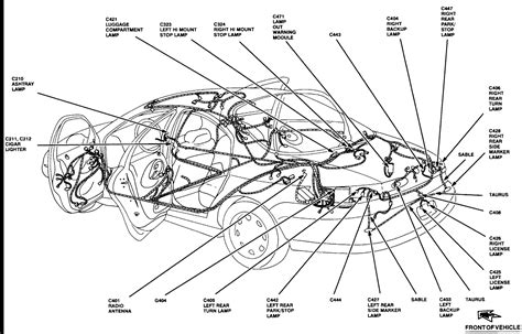 Diagrams For Page Taurus Car Club America