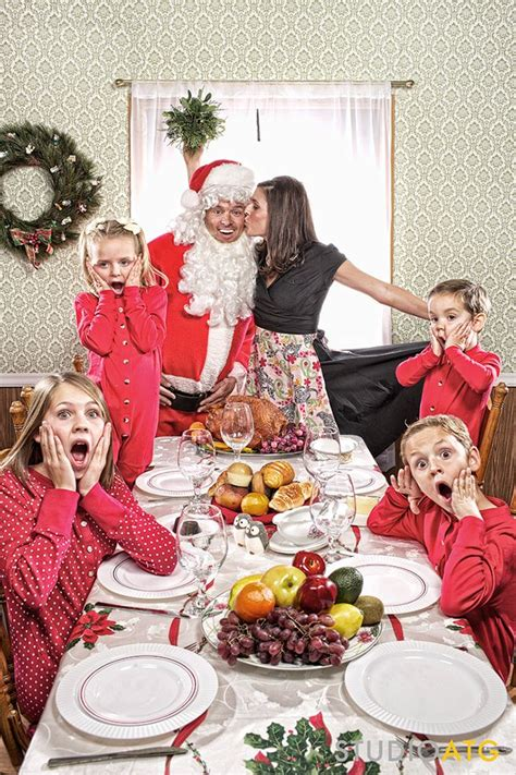 hilarious holiday family photo ideas   steal