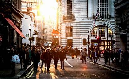 Street Sunny Wallpapers Urban Places Town Crowd