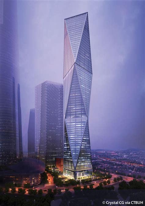 diagonal tower  skyscraper center