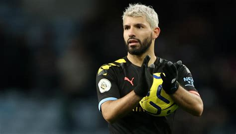 football sergio aguero claims players  scared