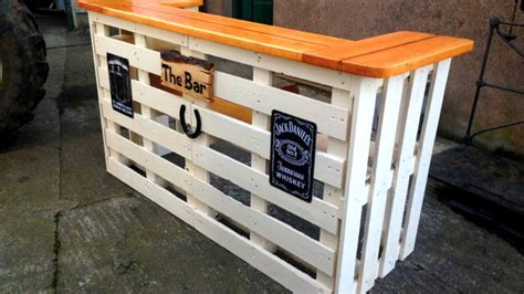 Diy Bar Furniture by 40 Diy Pallet Bar Ideas Creative 2017 Cheap Recycled Bar