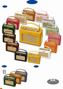 Download Roberts Radio Portable Radio R250 Manual And User