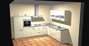 Küche Mit Granitarbeitsplatte : nobilia musterk che moderne l k che mit massiver ~ Michelbontemps.com Haus und Dekorationen