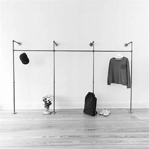 Kleiderschrank Industrial Design : industrial design modern look open closets clothing racks coat racks coat stands clothes ~ Markanthonyermac.com Haus und Dekorationen