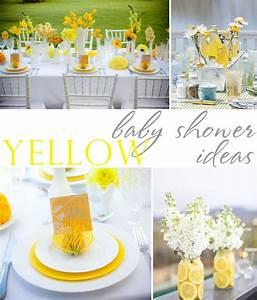 Yellow-Grey-Black-Baby-Shower-Ideas • The Celebration Shoppe