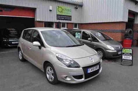 renault scenic 1 5 dci dynamique tomtom 5 door mpv gold manual 45k