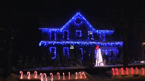 blue and white outdoor christmas lights mouthtoears com
