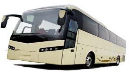 luxury volvo bus rental services  tilak nagar  delhi