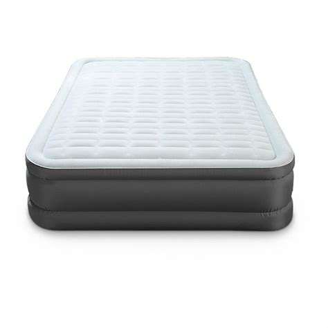 intex air mattress intex premaire elevated air bed 623213 air beds