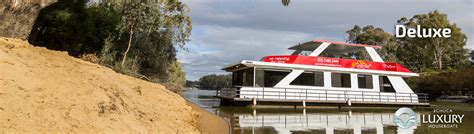 Echuca Houseboats by Deluxe Houseboat Luxury Houseboats
