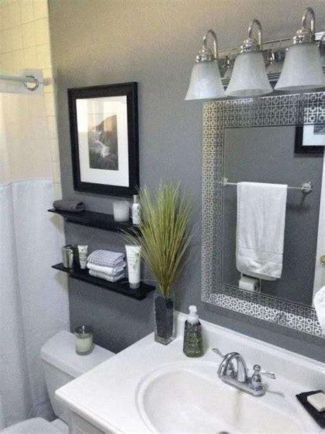 Looking for easy bathroom wall decor ideas? 44+The War Against Bathroom Shelves Over Toilet Diy Small Baths Powder Rooms 3 - freehomeidea ...
