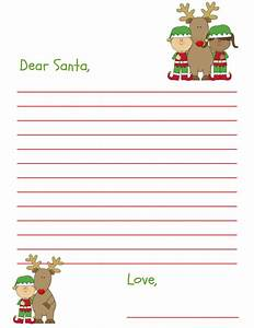 dear santa letter free printable for kids and grandkids With dear santa letters from kids