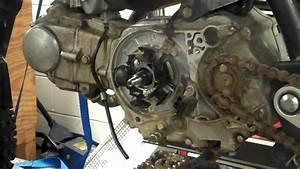 Honda 50 Flywheel Removal  U0026 Installation With Puller