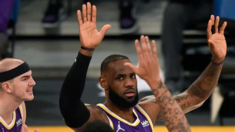 LeBron James feeling 'real good with my shot' as Lakers ...