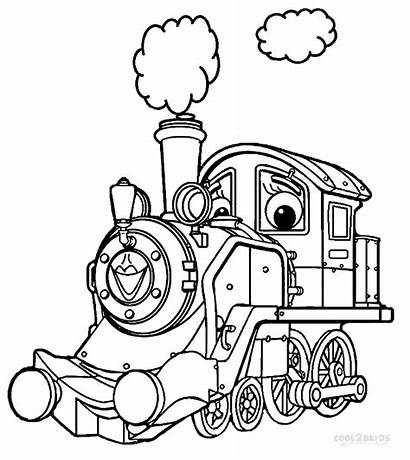 Coloring Chuggington Pages Printable Train Sheets Cool2bkids
