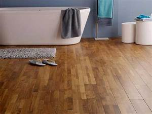 parquet salle de bain teck verni pour deco zen castorama With castorama parquet teck
