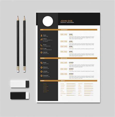 Cv Document Template by Resume Template Pdf Exle Document And Resume