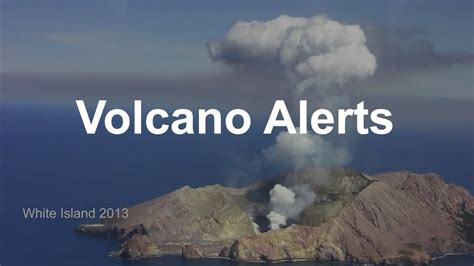 volcano alerts   zealand youtube