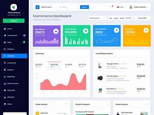Star Ecommerce Dashboard By Bootstrapdash On Dribbble