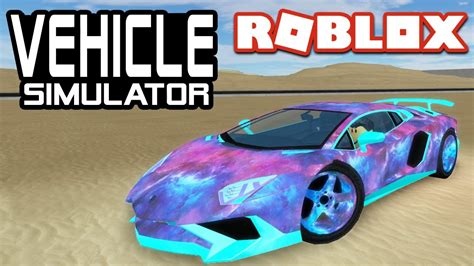 lamborghini aventador  vehicle simulator roblox