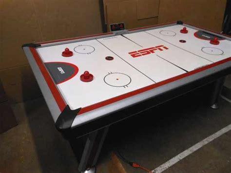 espn 84 air hockey table lso auctions lot a506 working sportcraft espn air