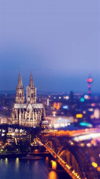 Spain Iphone Wallpapers Sky Cathedral Bridge Cologne