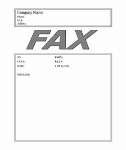 Business Fax Cover Sheet – 10 Free Word PDF Documents
