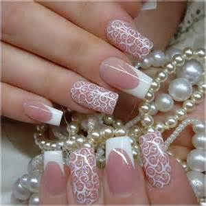Amazing wedding nail art designs for brides to be