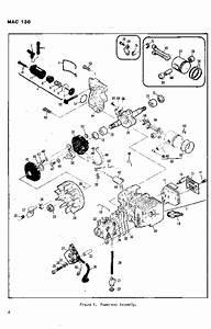 Mcculloch Mac 130 Chainsaw Parts List  1982 1983 1984 1985