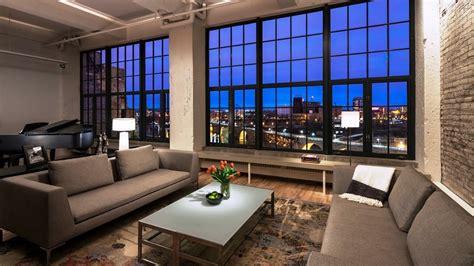 New York Loft Live It Style by Stunning Luxury Industrial Style Loft