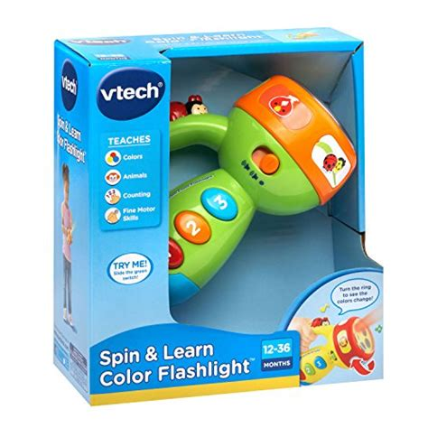 vtech spin and learn color flashlight vtech spin and learn color flashlight lime green