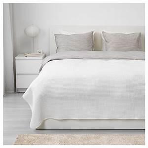 Couvre Lit Blanc : v reld couvre lit blanc 230x250 cm ikea ~ Teatrodelosmanantiales.com Idées de Décoration
