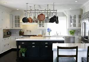 Black and white kitchen transitional kitchen nathan egan for Kitchen colors with white cabinets with modern black and white wall art