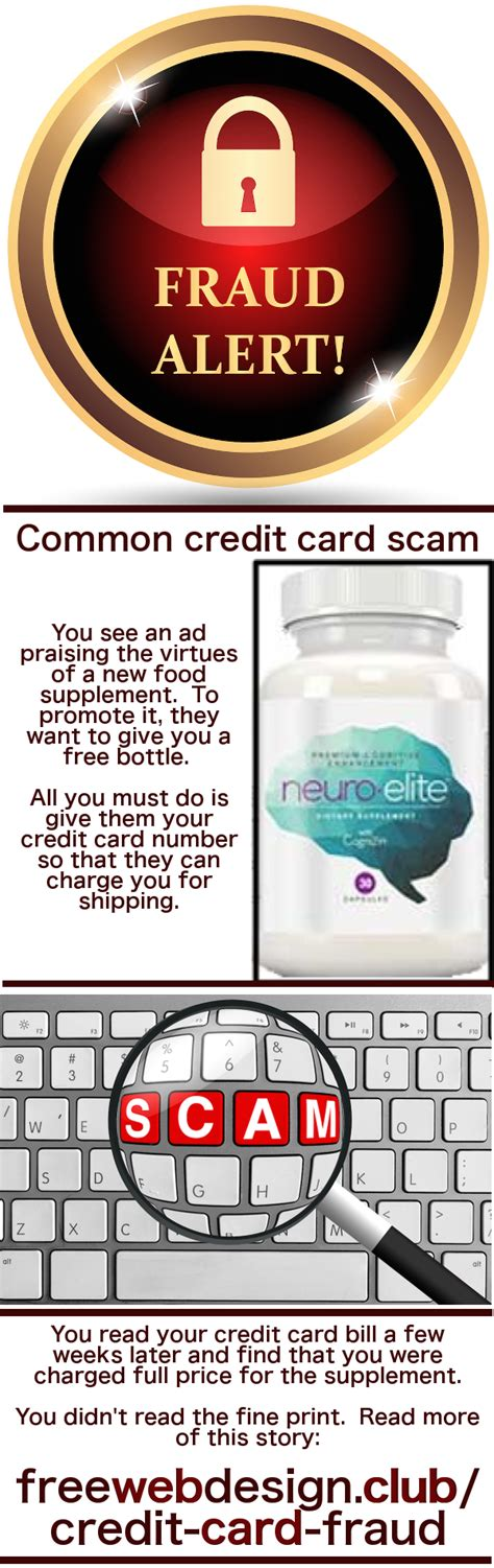 """Maybe you would like to learn more about one of these? Credit Card Fraud and """"Just Pay Shipping"""" - Free Web Design 