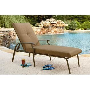 garden oasis emery chaise lounge outdoor living patio