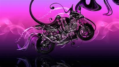 Wallpapers Bike Kawasaki Monster Energy Tony Plastic