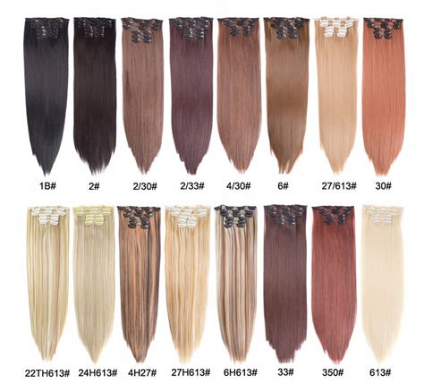 2020 Alileader 22 Hairpiece 140g Straight 16 Clips In