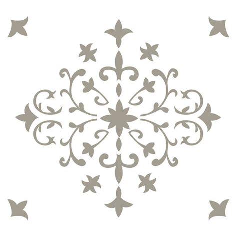 pochoir adh 233 sif orient 420 x 460 mm castorama carreaux de ciments