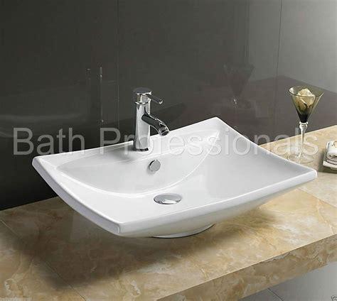 sink bathroom countertop basin sink countertop ceramic bathroom cloakroom wall hung