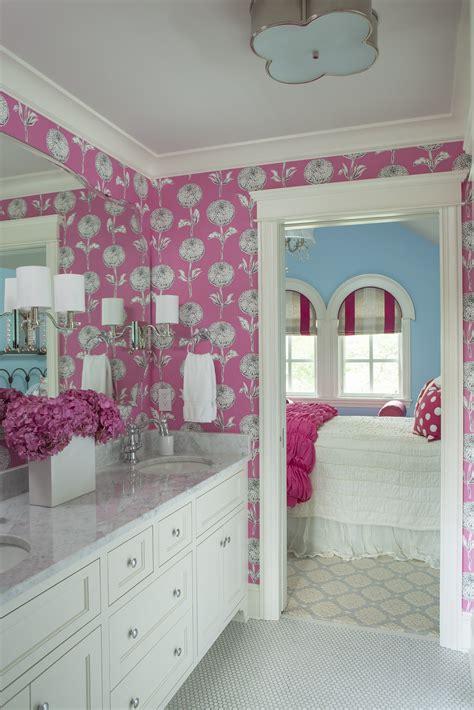 girly bathroom ideas 15 reasons to bathroom wallpaper