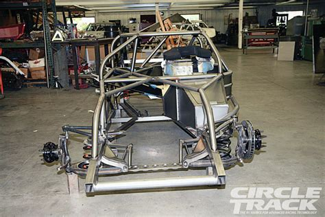 Super Late Model Chassis With A Twist