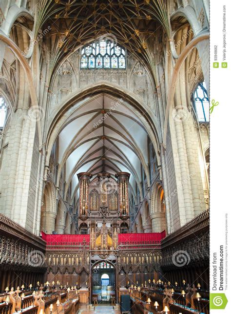 gloucester cathedral editorial photography image