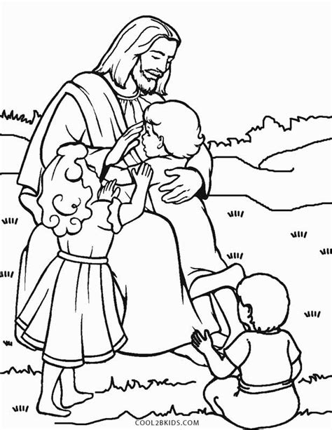 printable jesus coloring pages  kids coolbkids