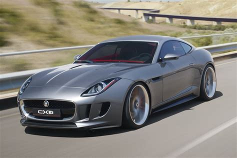 Jaguar Car : New Jaguar C-x16 Concept Hints At A Porsche Cayman And 911