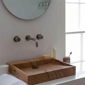 Waschbecken Aus Holz : modernes bad 70 coole badezimmer ideen ~ Sanjose-hotels-ca.com Haus und Dekorationen