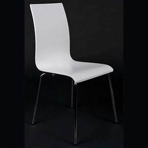 Chaise Design Blanche : chaise design tina blanche ~ Teatrodelosmanantiales.com Idées de Décoration